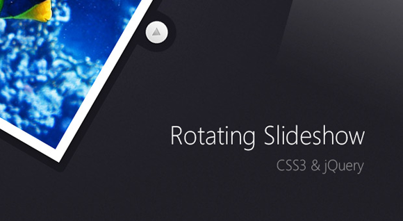 Rotating Image Slideshow CSS3 and jQuery