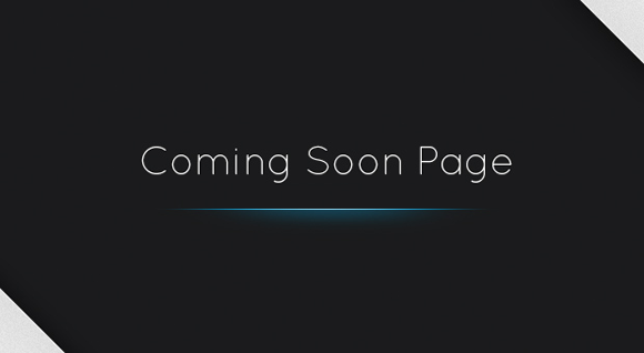 Stylish Coming Soon Page with jQuery